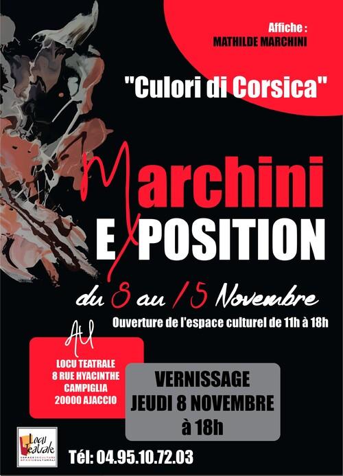 08 au 15 novembre 2018  - Exposition Pierre-Paul Marchini - Culori di Corsica