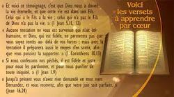 Les dix commandements donnés par Dieu
