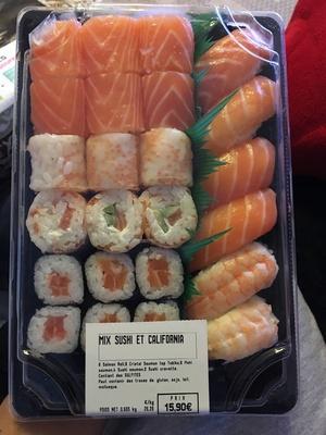 boîte de sushis
