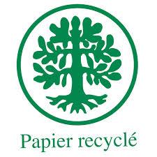 * Le recyclage du papier