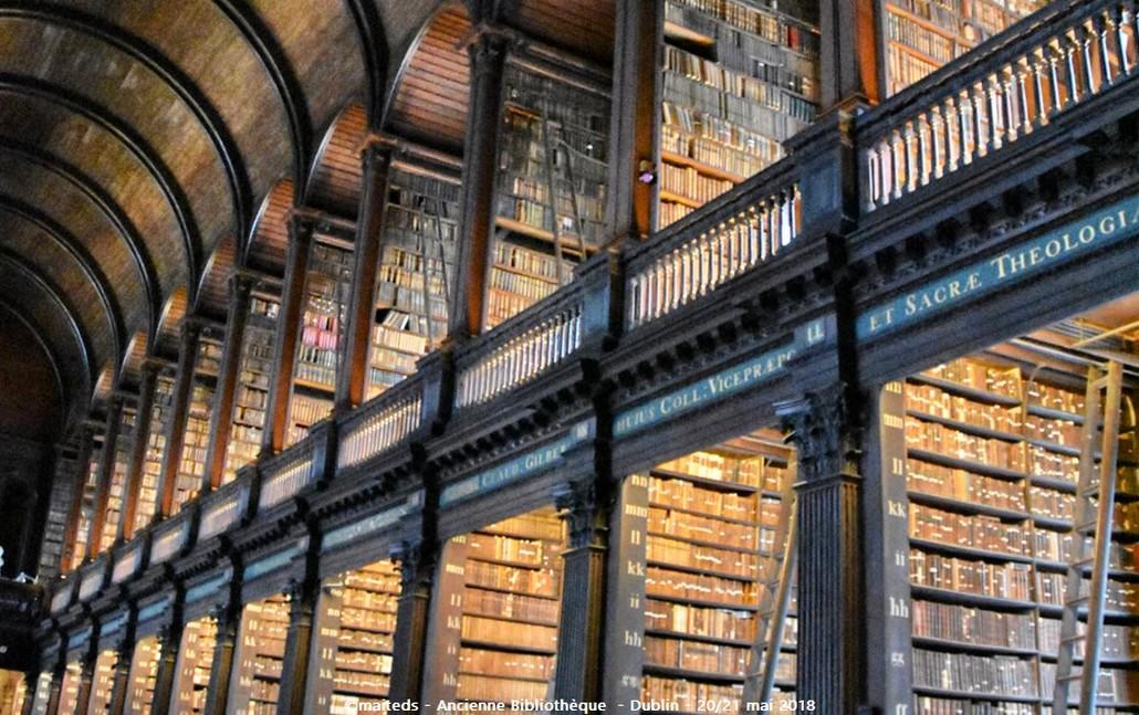 Dublin - Irlande (11) La Old Library de Trinity College