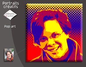 Portraits créatifs popart