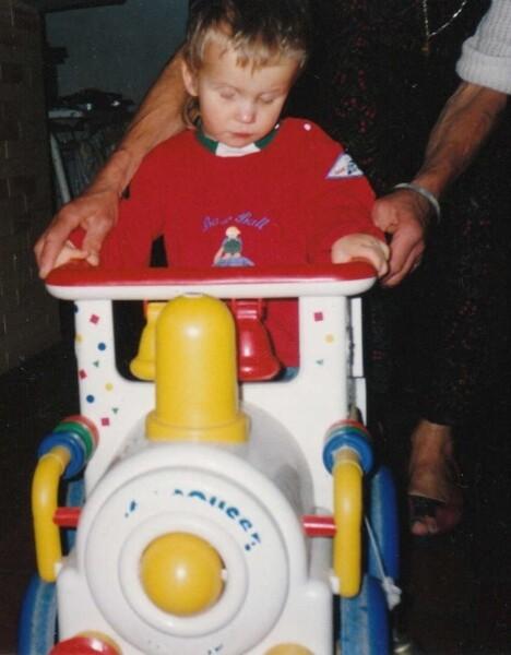 Marvin à 20 mois 1992