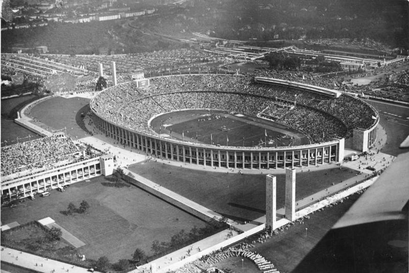 Stade olympique de Berlin 1936