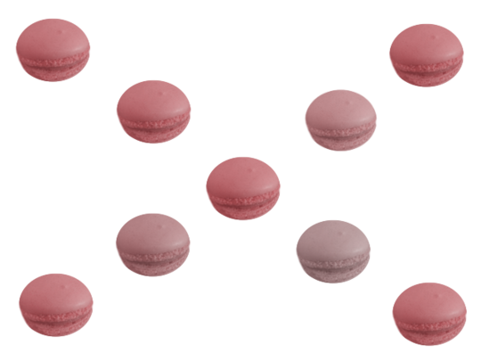 Tubes macarons