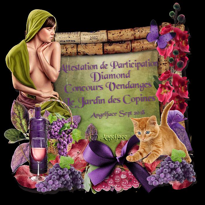 """Concours """"Vendanges"""" au jardin des copines"""