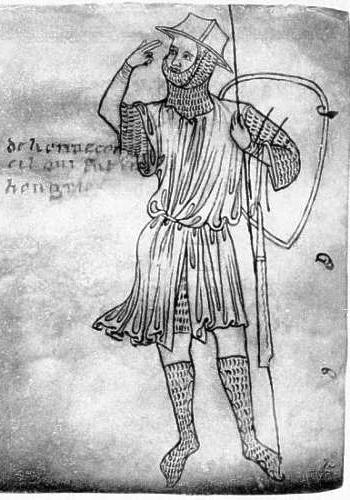 Le carnet de Villard de Honnecourt sur Gallica