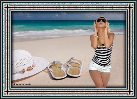 Sur la plage...