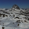 Du sommet de Espelunciecha (2397 m), le pic du Midi d'Ossau