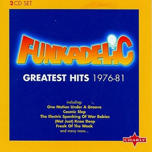 "Funkadelic : Album "" Greatest Hits 1976-81 "" Charly Records CPCD 8306-2 [ EU ]"