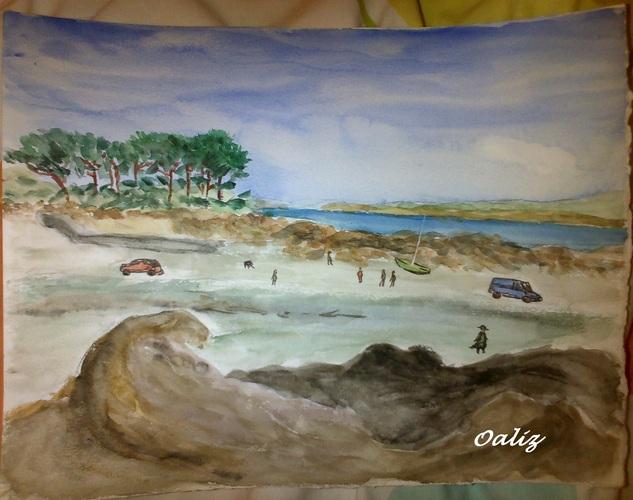 [ Aquarelles ] Paysages bretons