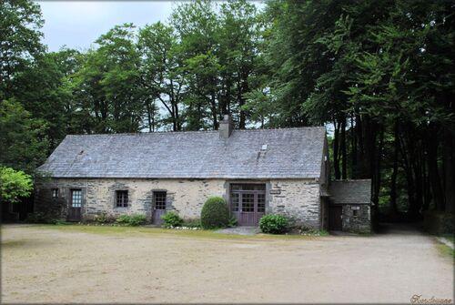 Photo du domaine de Menez Meur en Bretagne