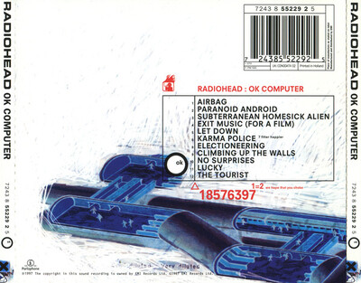 Mes indispensables # 10: Radiohead - OK Computer (1997)