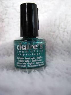 Swatch : Claire's - Mini Pailleté vert