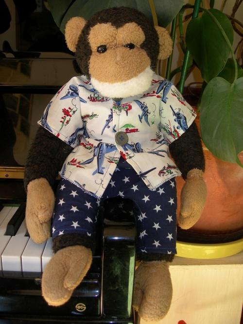 Pijama US pour copain poilu