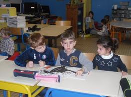 Lecture des CP CE1 en maternelle