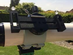 Multipurpose flat mounting base for Telrad finder