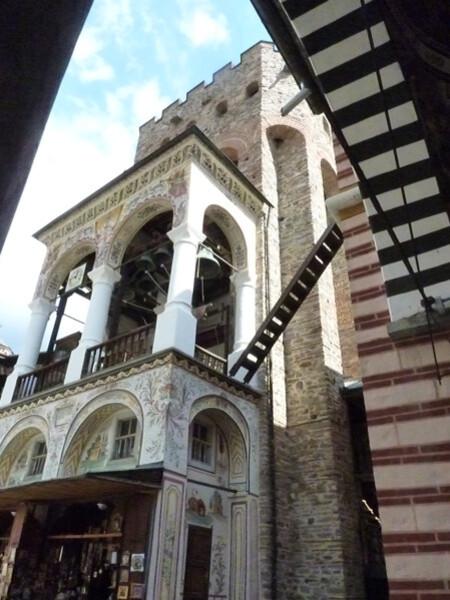 Jour 3 - Rila monastère - la tour la plus ancienne