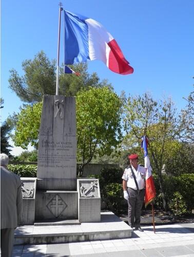 * 22 Août 2016 - LA GARDE en Provence a commémoré sa Libération par le RFM
