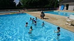 séances piscine..