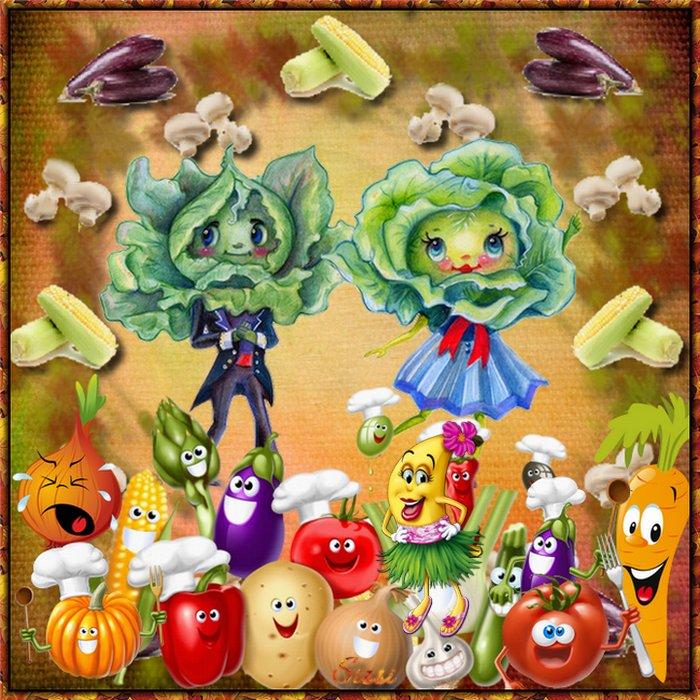 * Cadre Légumes * Atelier de Cerise *