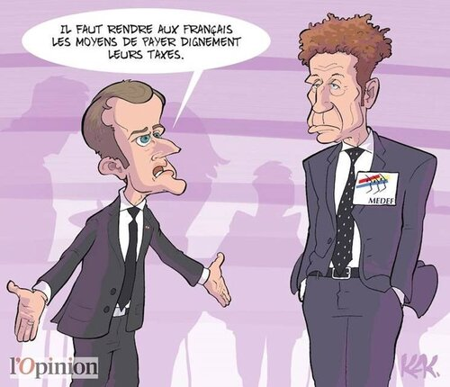 La France décadente ou les débilités de Tiot.