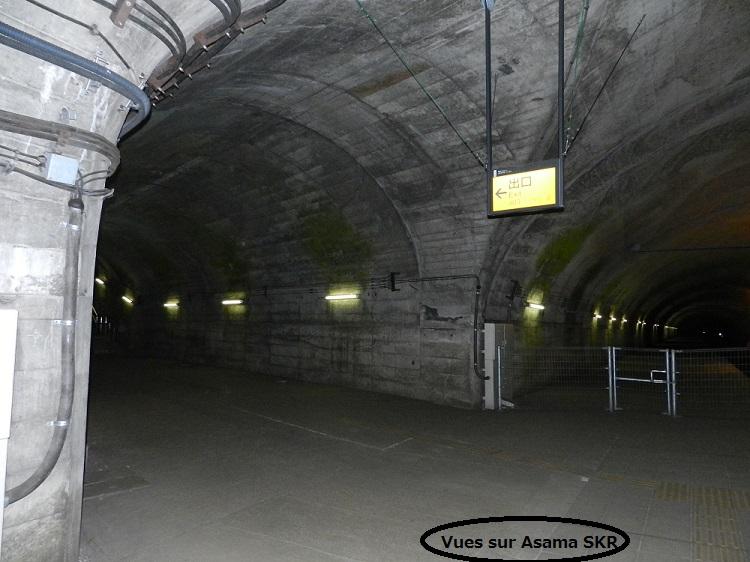Dans les souterrains...