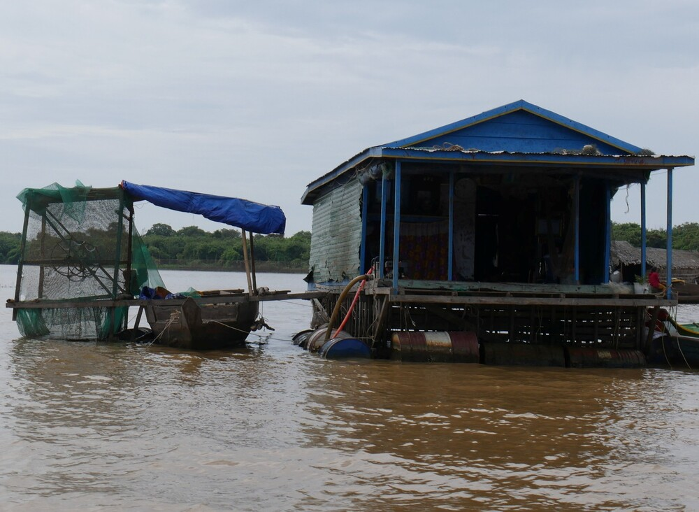 Mini croisière sur le Tonlé Sap - Cambodge