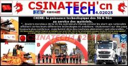 CHINE: la puissance technologique des 5G & 5G+ au service des matériels(...).