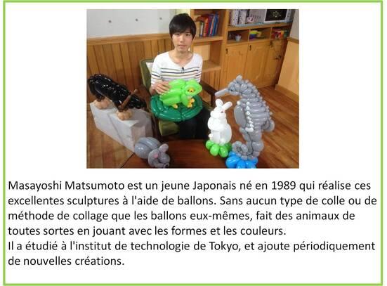 animaux en ballon