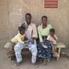 burkina bomborokuy martin-pierre et sa famille