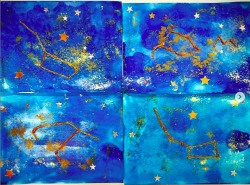 Arts visuels : les constellations