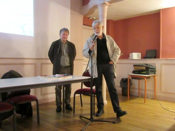 """Présentation du livre de Gérard Soufflet """"Maquisards Russes en Bourgogne"""""""