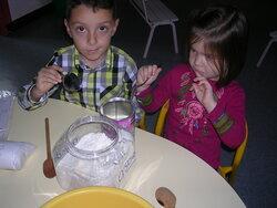 Fabrication de la pâte à sel