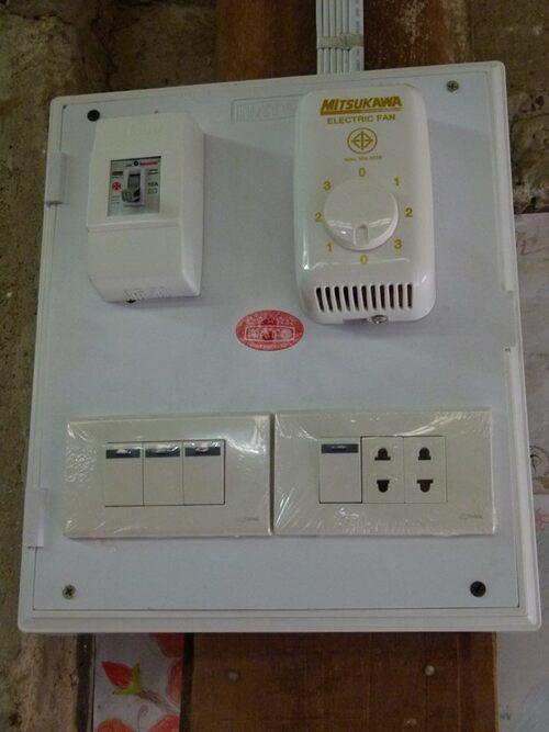 Travaux électrification terminés
