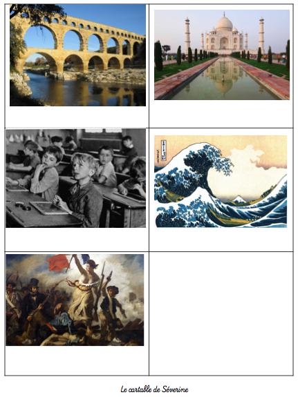 Histoire des arts selon programmation dictées Mélimélune