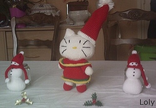 les kitty de noel 2013