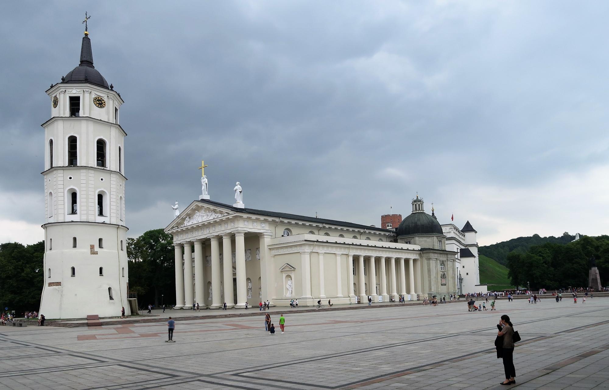 La Cathédrale et sa place