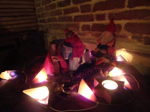 Des petits lampions dans la nuit...