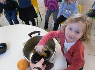 Confiture/miel de pissenlits : la cramaillotte