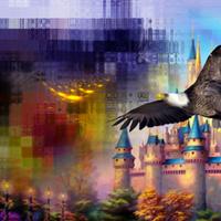 L'aigle de Disney