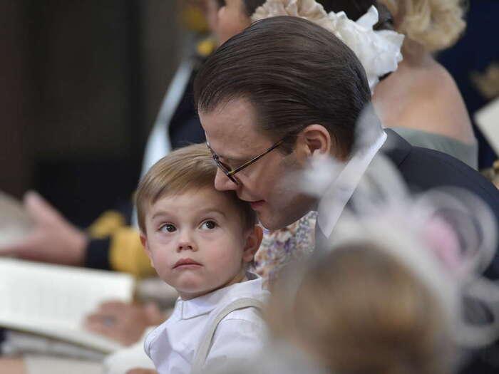 Baptême d'Adrienne de Suède - 2