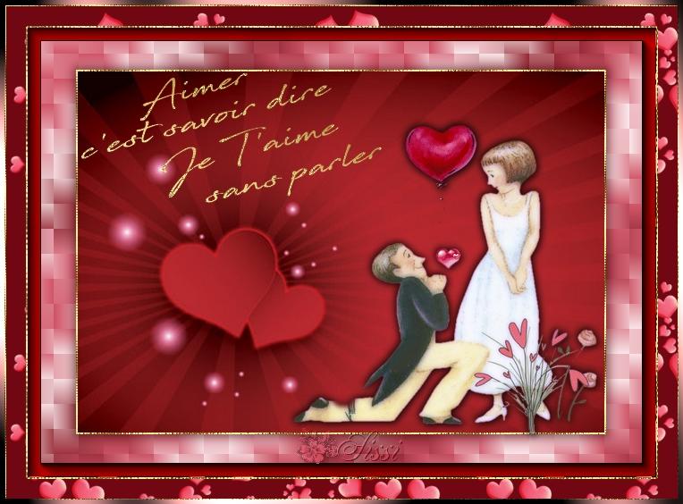* Bientôt La St Valentin *