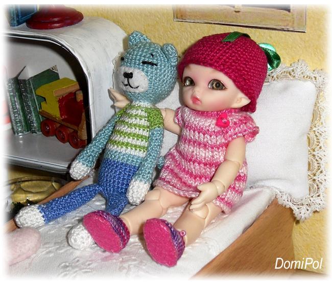 Amigurumi pour mes poupées