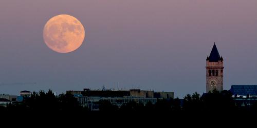 Nuit blanche et pleine lune !!!