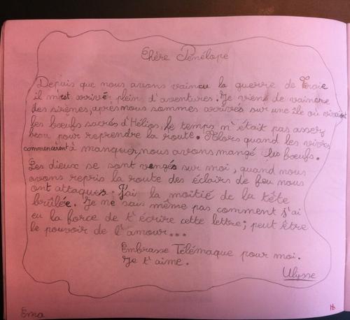 carnet de  voyage d' Ulysse