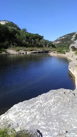 LUNDI 24 AVRIL 2017 - LES GORGES DU GARDON - COLLIAS (Gard)