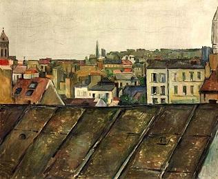 Sur les toits de Paris ...