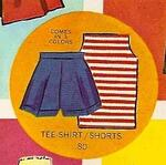 Barbie vintage : T-Shirt & Shorts
