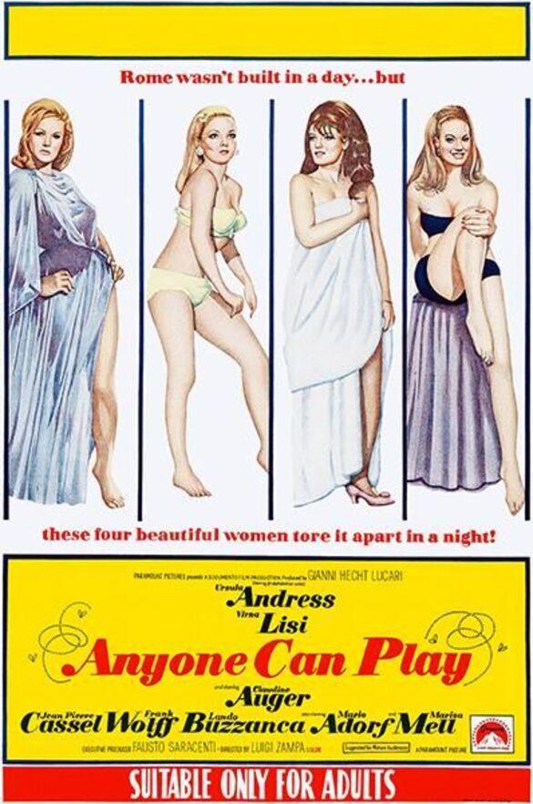 ANYONE CAN PLAY (PAS FOLLES LES MIGNONNES - LE DOLCI SIGNORE box office usa 1968